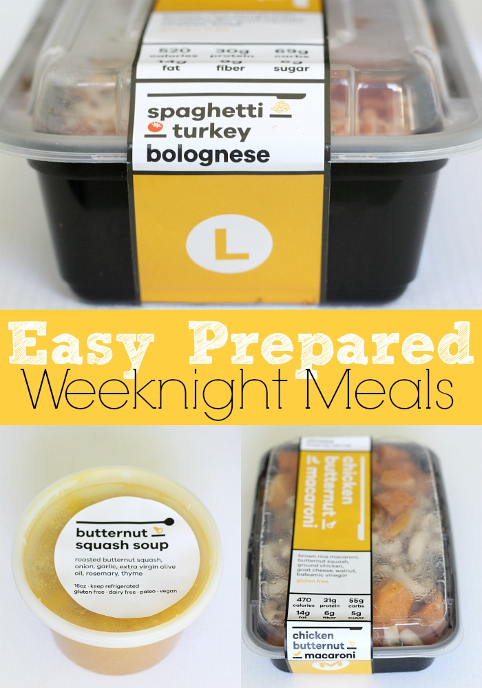 This meal service makes weeknight meals a snap - to food preparation required!
