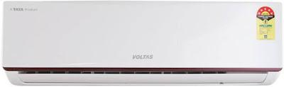 Voltas 1.5 Ton 5 Star Split AC - White  (185JY, Aluminium Condenser) @ Rs.27,999/-