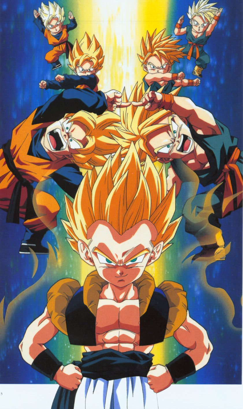 dragon ball z wallpapers gotenks super saiyan. Black Bedroom Furniture Sets. Home Design Ideas