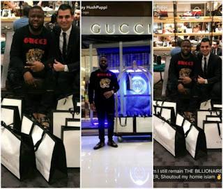Hushpuppi shuts down Gucci store in Dubai, see photos