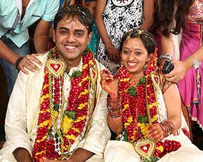 Singer Malavika Marriage Photo