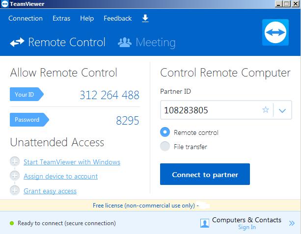 Tải Teamviewer 11 full về máy tính miễn phí a