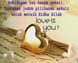 Kata Kata Cinta Islami Romantis