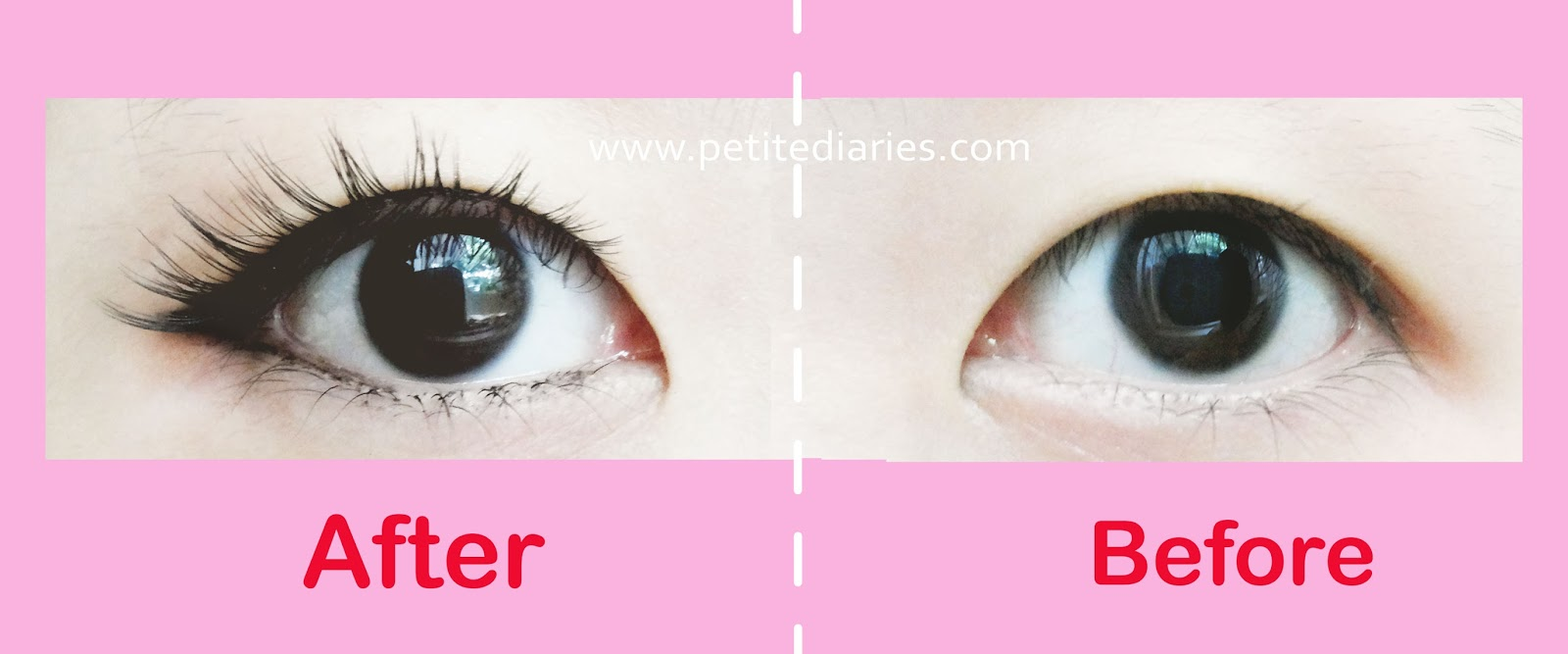 japanese eyelashes review before after