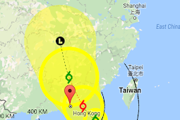 Breaking News: Observatorium Hong Kong Mempertimbangkan Sinyal Siaga No. 1 Topan Mawar, Hari Ini