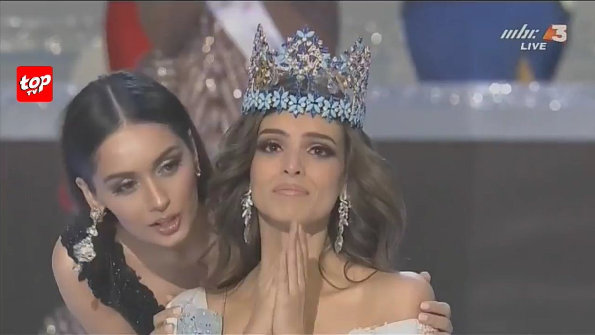 Congratulations to Miss Mexico Venessa Ponce De Leon, the newly crowned Miss World 2018!