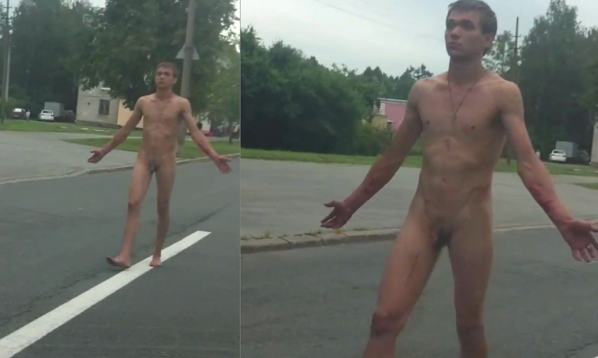 naked boy in public