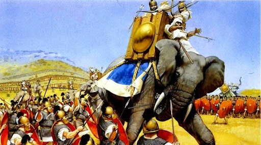 Elefante cartagines y guerras punicas
