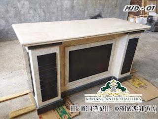 meja kerja modern model MJD-01