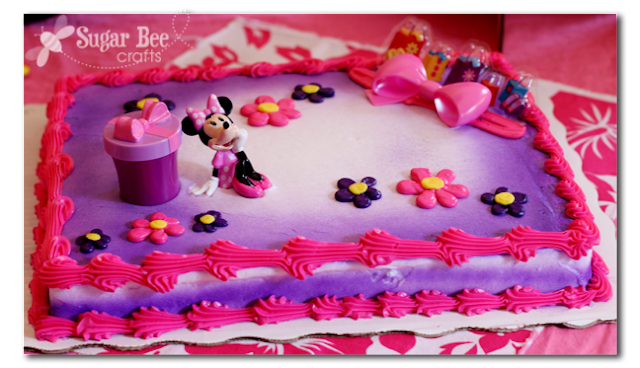 Minnie Mouse Disney Dream Party Celebration Sugar Bee