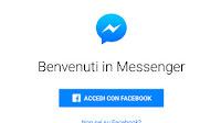 Usare l'app Messenger senza account Facebook