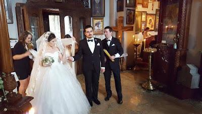 boda en la iglesia de Metekhi