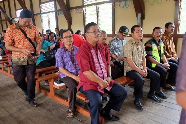 Misa Syukur Gedung Gereja Katolik Santo Paulus Stasi Lubuk Tajau