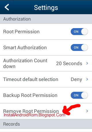 Remove Root Permission Unroot iRoot