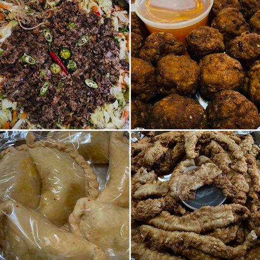 Food from Hotdish for our kiddie birthday party at home