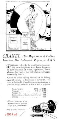 history perfume