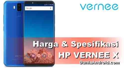 Harga HP VERNEE X Terbaru - Android RAM 6 GB