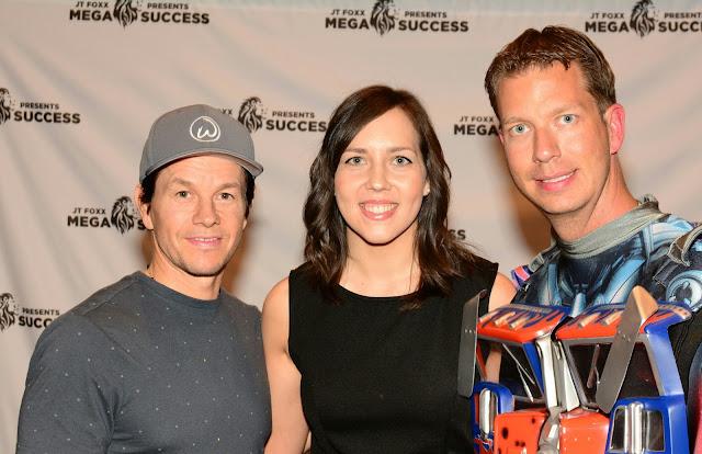 Mareli Scott and Mark Wahlberg