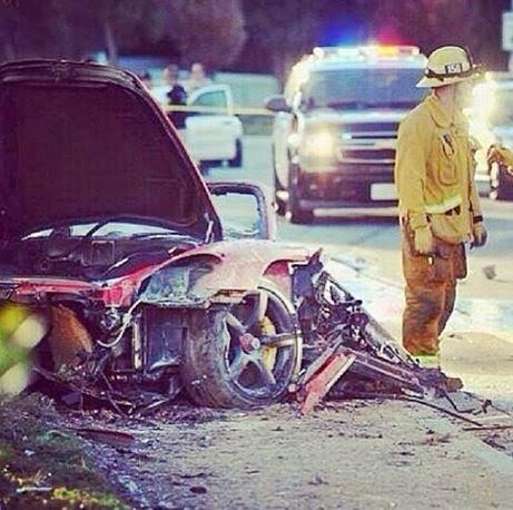 Emerging Magazine Articles : Fiery Fatal Car Crash Takes