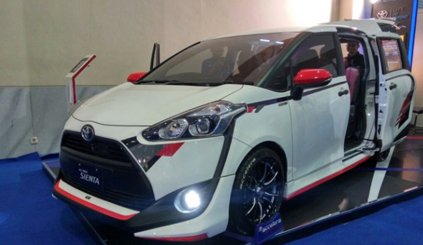 Kurang Macho, Toyota Beri Penyegaran Sienta di IIMS 2017