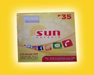 Sun Cellular LTE SIM now Available to Prepaid Subscribers for 35 Pesos