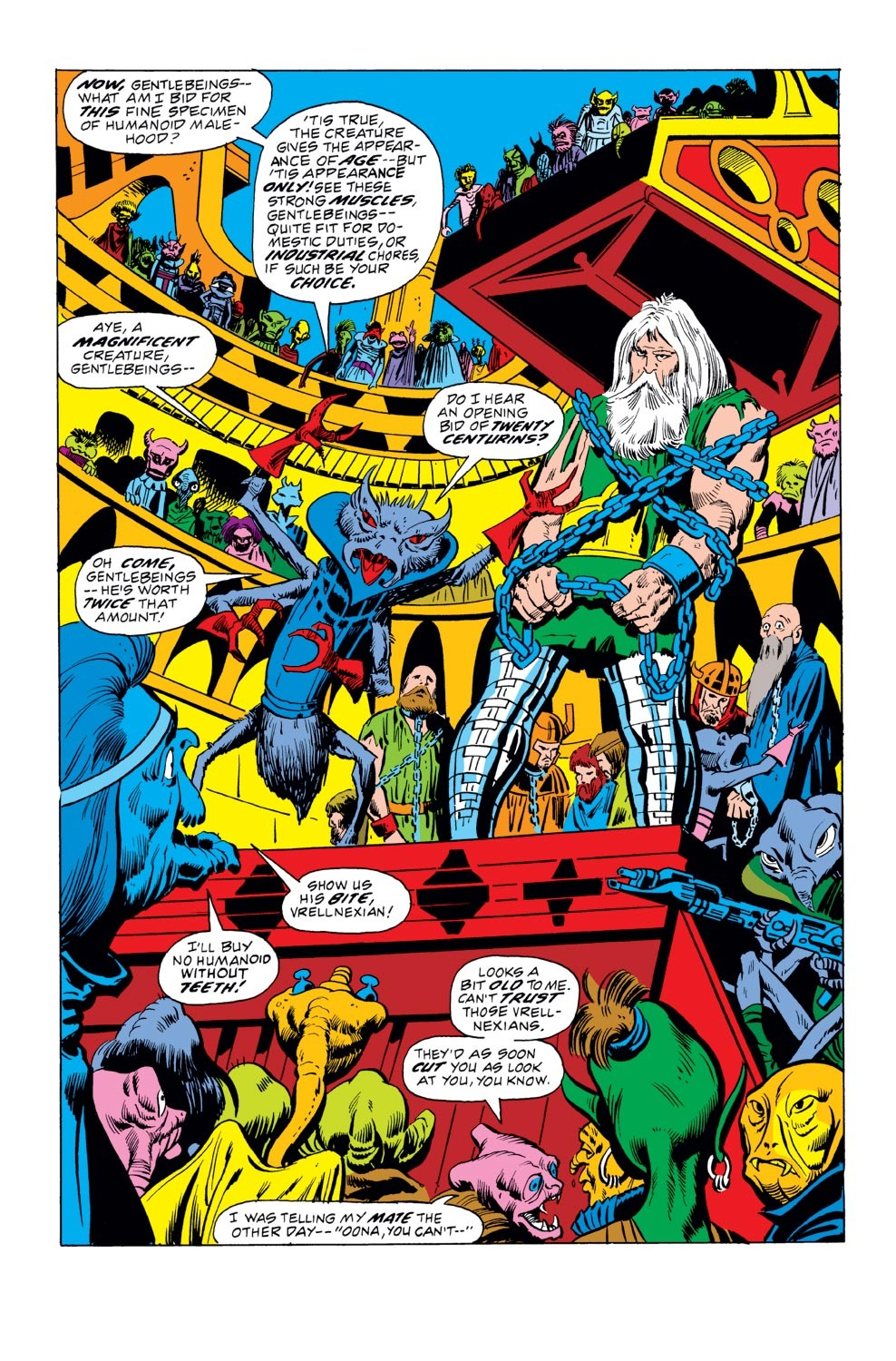 Read online Thor (1966) comic - Issue #212