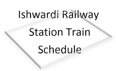 Train schedule from ishwardi railway station