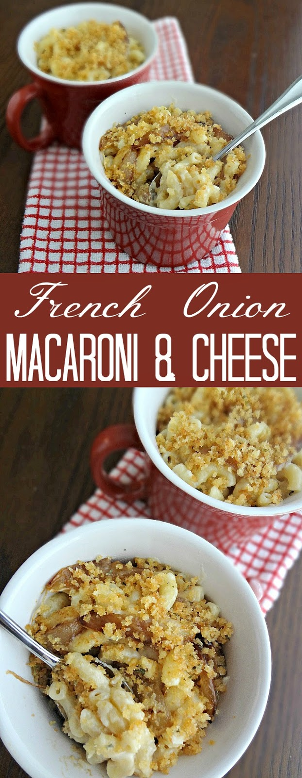 French Onion Macaroni and Cheese