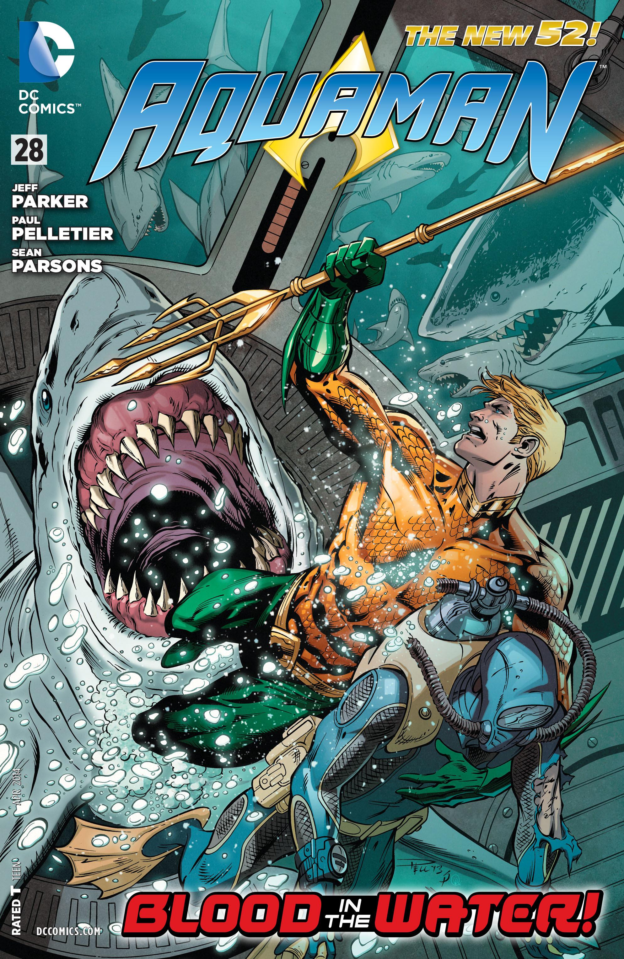 Read online Aquaman (2011) comic -  Issue #28 - 1