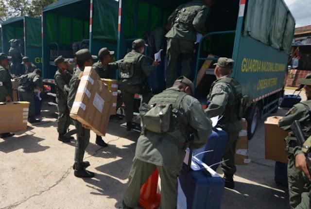 Robaron cuatro fusiles AK-103 en centros electorales