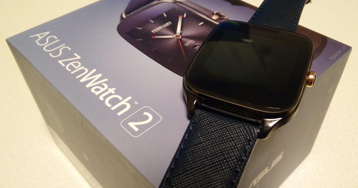 【レビュー】最新スマートウォッチ「ASUS ZenWatch 2」を早速開封、外観をチェック