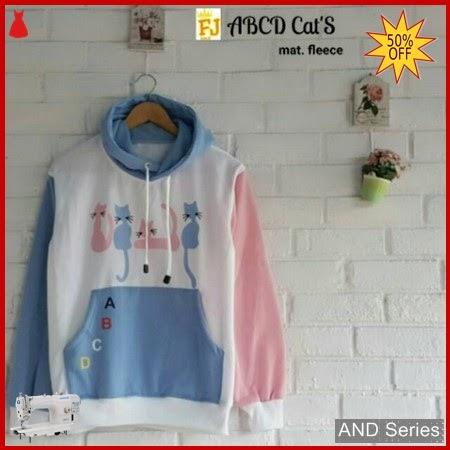 AND208 Sweater Wanita Abcd Cats Murah BMGShop