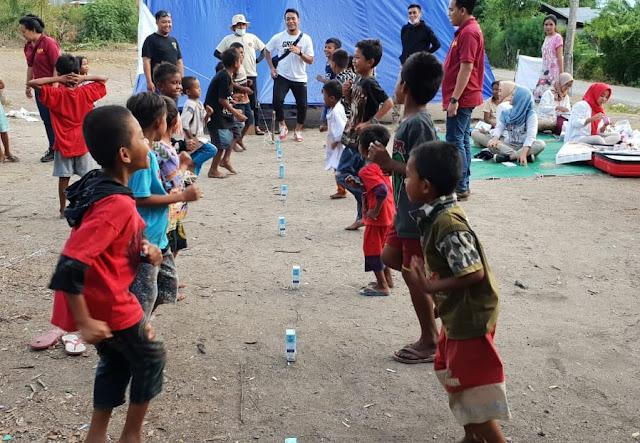 Dokter Tim Prabowo-Sandi Tangani Trauma Anak-Anak Korban Gempa Sulteng