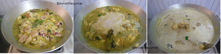 How to make Chicken Kurma- Step 4