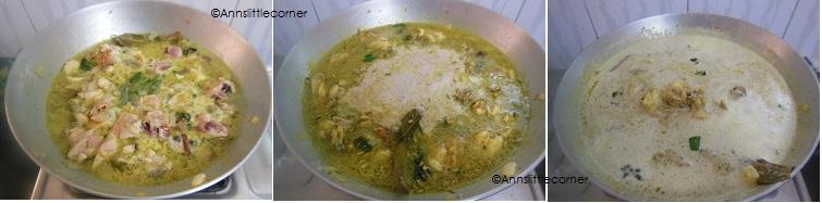 How to make Chicken Kurma- Step 4