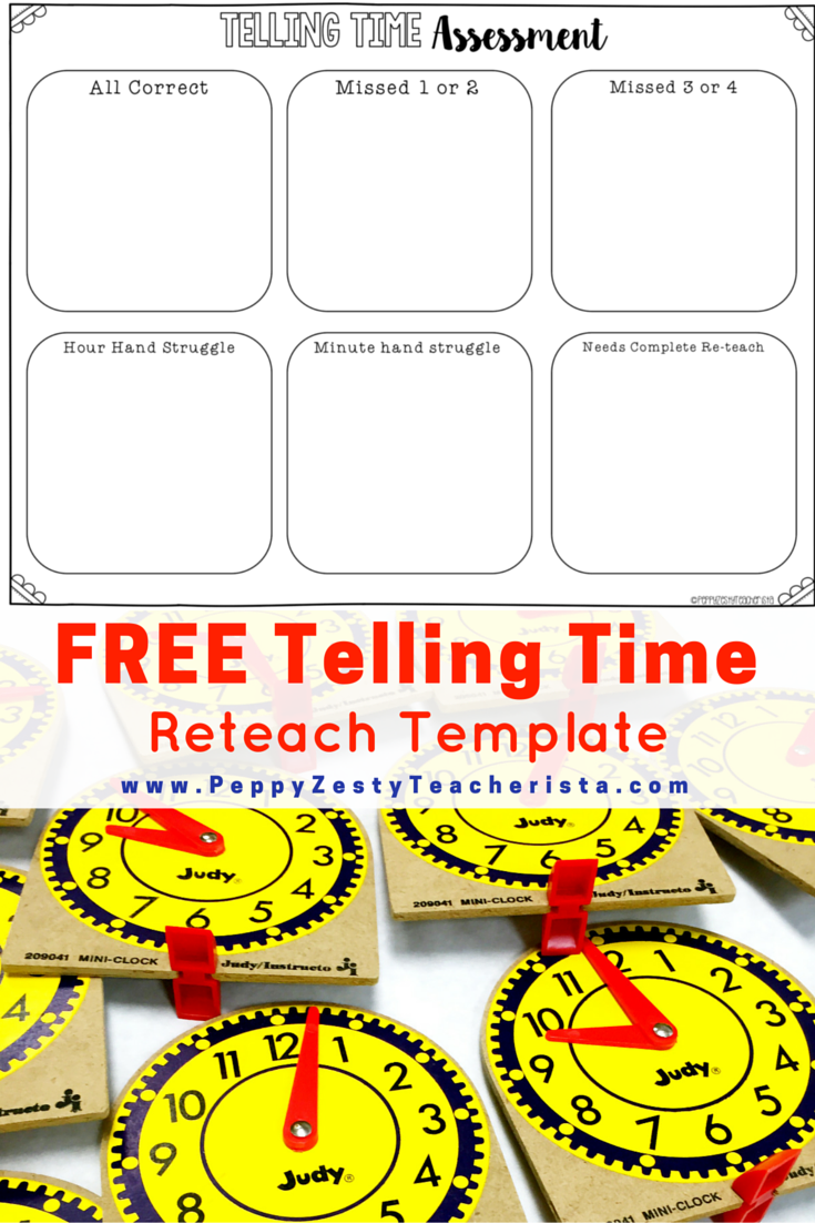 Telling Time And Elapsed Time Peppy Zesty Teacherista