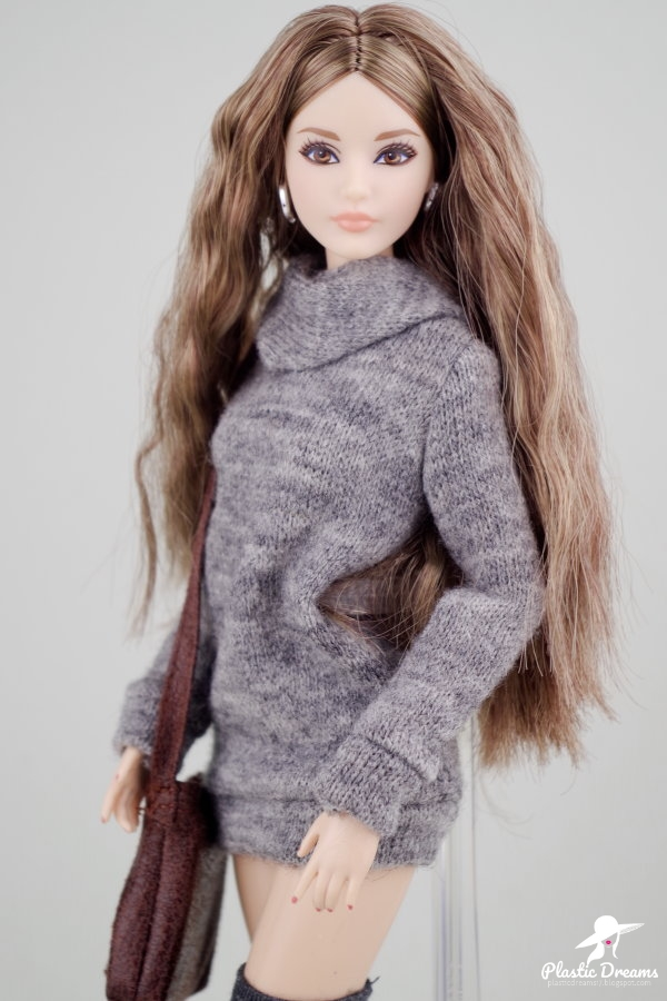 the look barbie doll hipster