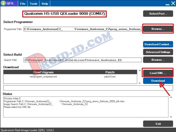 Cara Mudah Flashing / Perbaiki Andromax EC ( C46B2H ) Bootloop Via