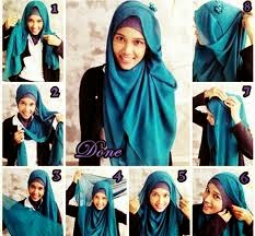 All About Fashion Tutorial Hijab Modern