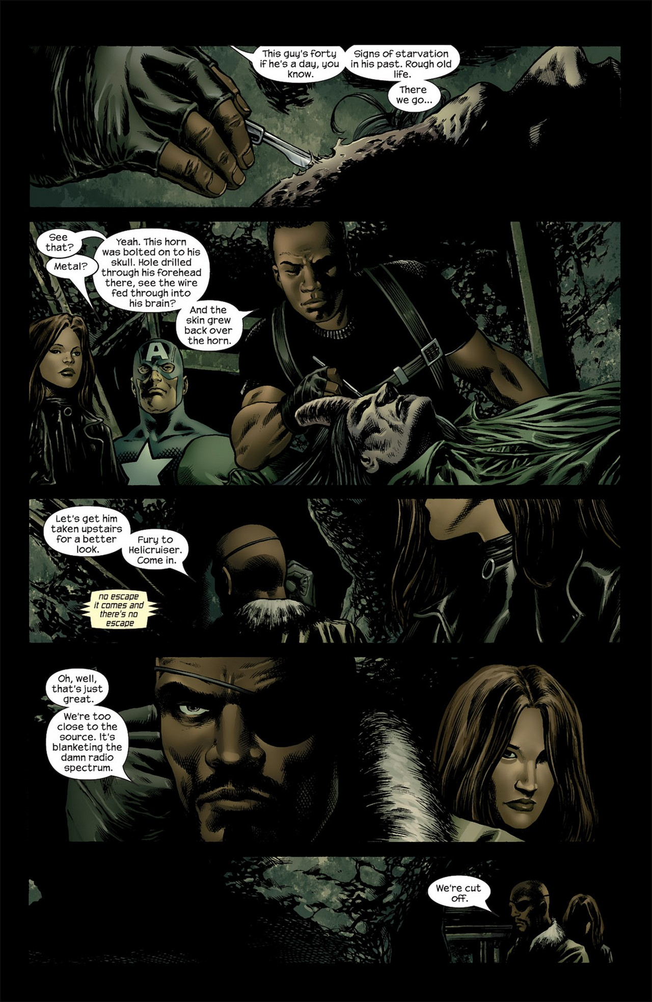 Read online Ultimate Nightmare comic -  Issue #3 - 16