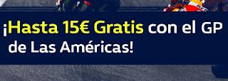 william hill promocion MotoGP GP de Las Américas 22 abril