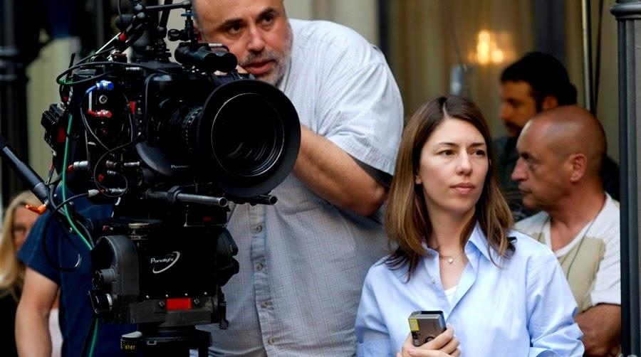 Sofia Coppola pe platourile de filmare