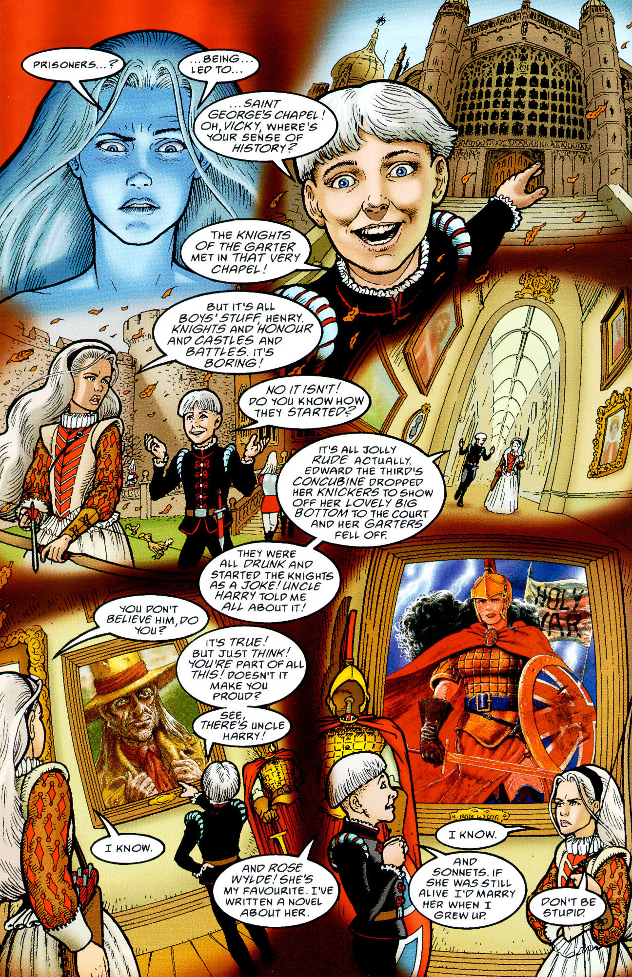 Read online Heart of Empire comic -  Issue #3 - 20