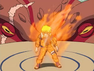 Naruto chakra kyubi vs Gaara
