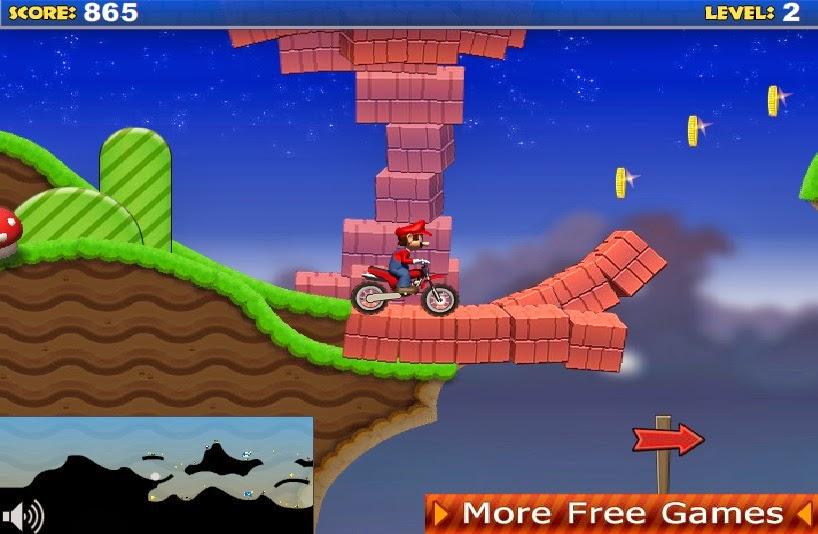 Download Flash Game - Mario Bike | Share Flash Games