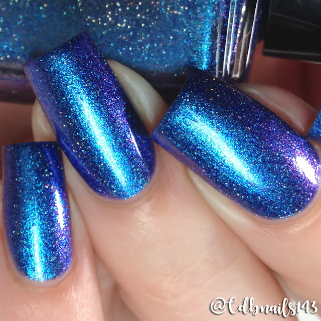 Quixotic Polish-Poseidon Blue