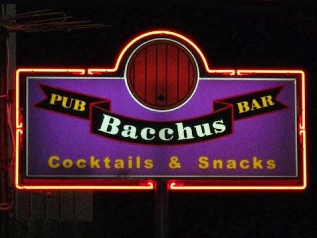 Bacchus Bar no Algarve