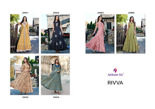 Arihant nx Rivva Indo Western Stitched Gown