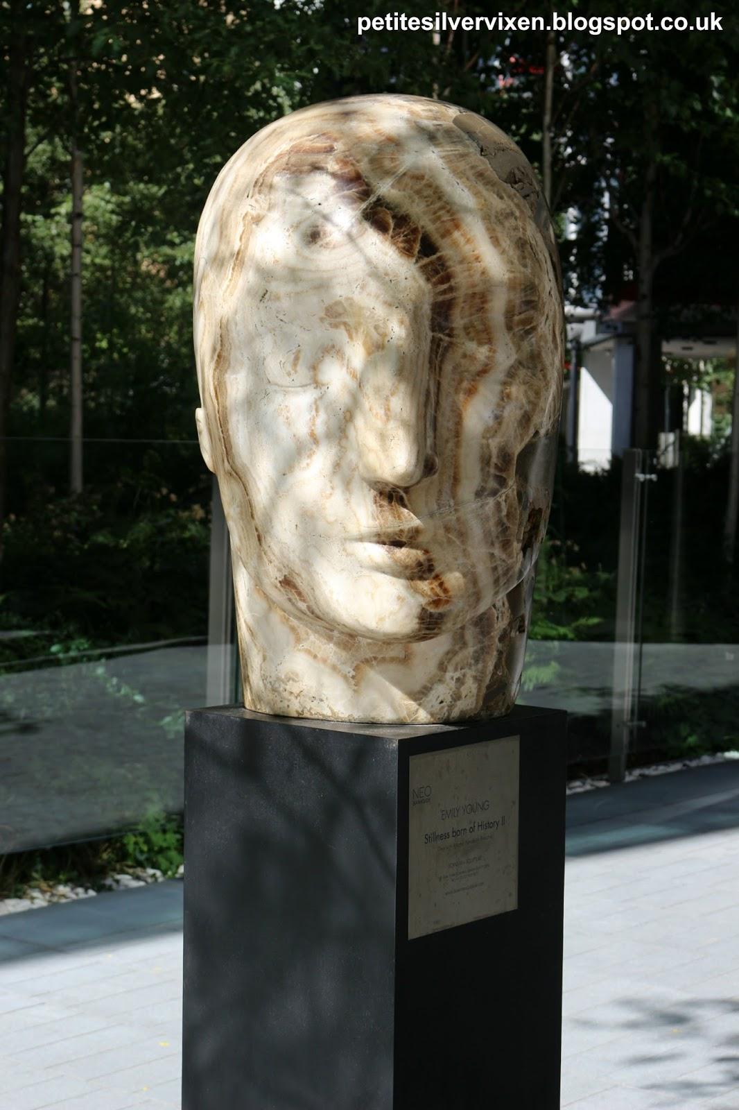 Emily Young Sculpture | Petite Silver Vixen