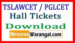TSLAWCET 2017 / TSPGLCET-2017 Hall Tickets Download